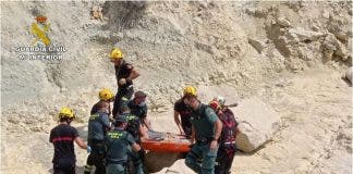 Swimmer Left Stranded And Unconscious For 24 Hours On Remote Cove In Benidorm Area Of Spain S Costa Blanca