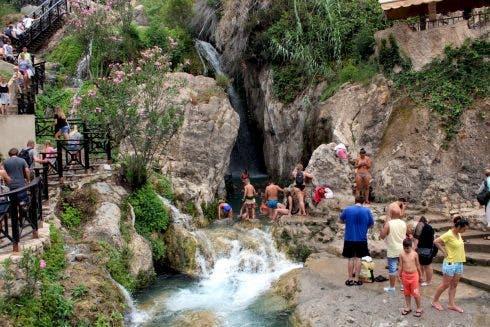 Algar Waterfalls 1