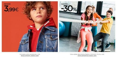 Cubeta foso emprender  El Corte Inglés advert of child 'hanging' sparks uproar - Olive Press News  Spain