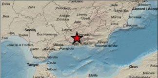 Registrado Un Terremoto De Magnitud 25 En Otura