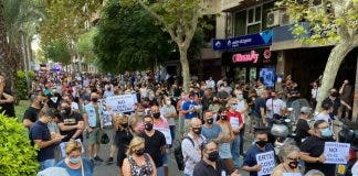Bar And Club Owners Protest In Spain S Costa Blanca Over Future Fears For Hospitality Sector Photo Two