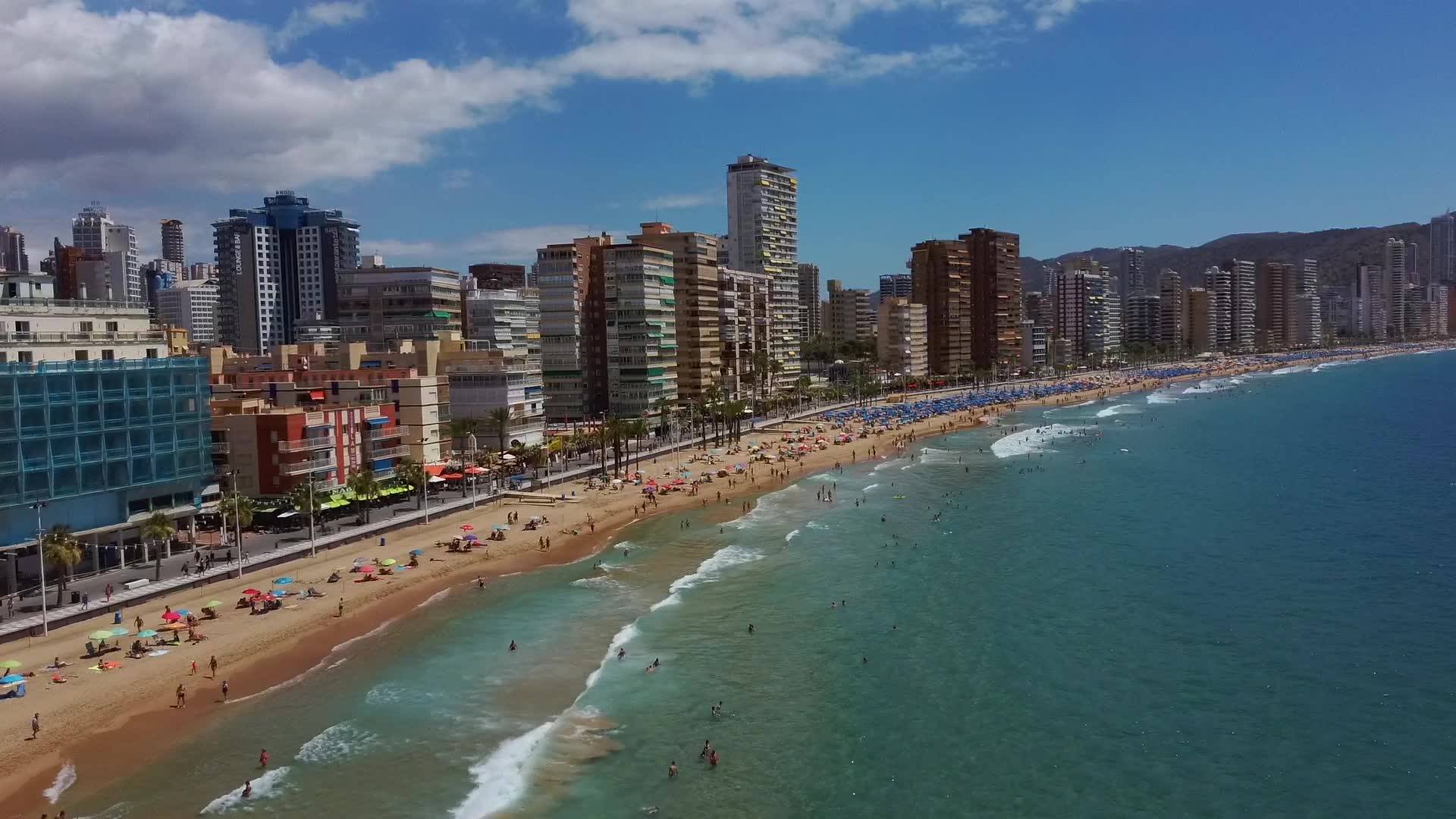 Benidorm COVID-19 infection rate is three times higher than Spain's national average