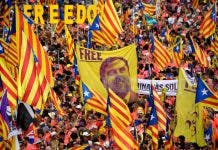 Topshot Spain Catalonia Politics