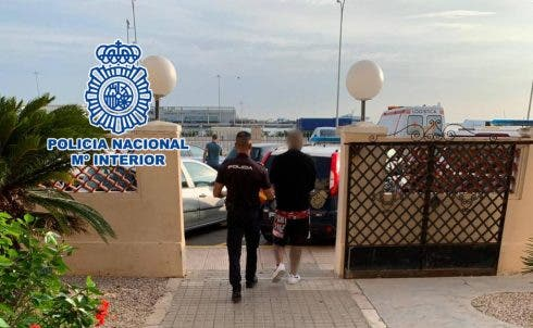 Violent debt collector who is martial arts fighter is arrested by police on Spain's Costa Blanca