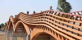 Footbridge Senda Litoral Malaga