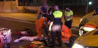 Home Delivery Biker Kills Woman On Pedestrian Crossing On Spain S Costa Blanca