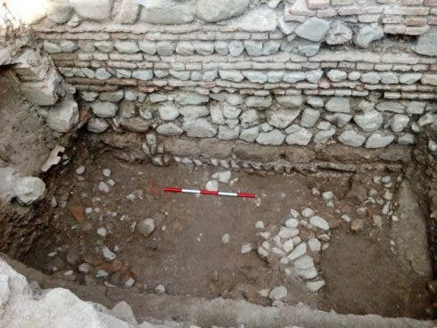 Medieval wall unearthed in Malaga as dig next to metro becomes largest in Spain