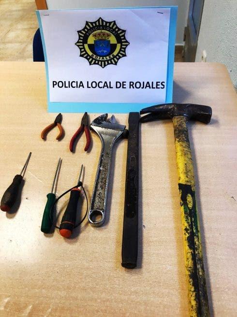 Rojales Shoplifter Tools