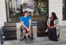 Bench Disabled Gib