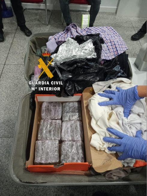 Drugs In Suitcase