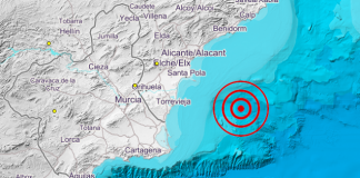 Earthquake Alicante