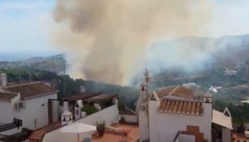 Frigiliana Fire