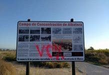 Far Right Wing Graffiti Smeared At Franco Concentration Camp Site On Spain S Costa Blanca