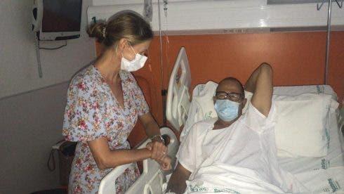 Paul Schofield In Son Espases Hospital