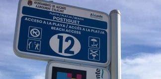 Popular Tourist Beach On Spain S Costa Blanca Claims A World Digital First  2