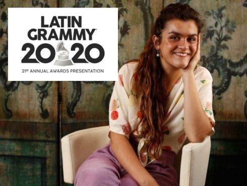 Spanish pop star Amaia bags first Grammy nomination
