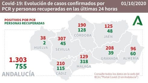 Spain's Andalucia records 1,303 COVID-19 cases and 19 deaths Thursday