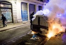 Riots In Barcelona Against Covid 19 Mesures