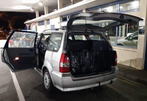 Alleged illegal shopper and cigarette smuggler arrested this week