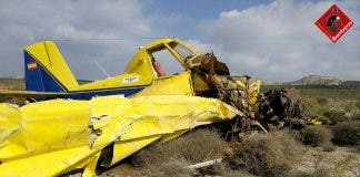 Lucky Escape As Pilot Crash Lands On Airfield In Spain S Costa Blanca