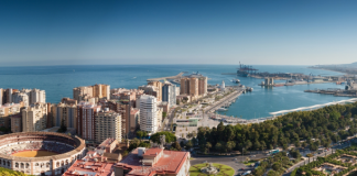 Widescreen Malaga By Day