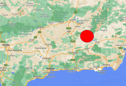 Jaen Quake Zone