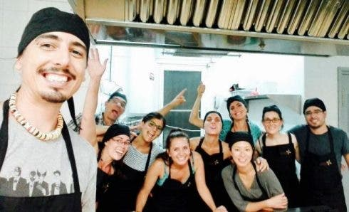 Refugee Chefs From The Cooking School At Espai Mescladis