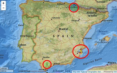 Spain Quake Map 2 1