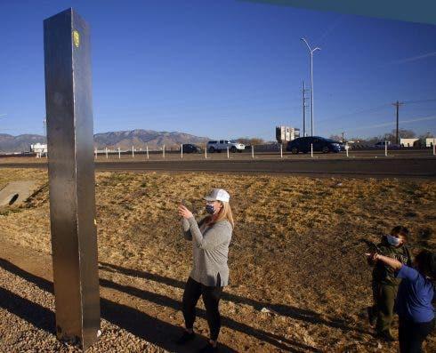 New Monolith Appears In Albuquerque