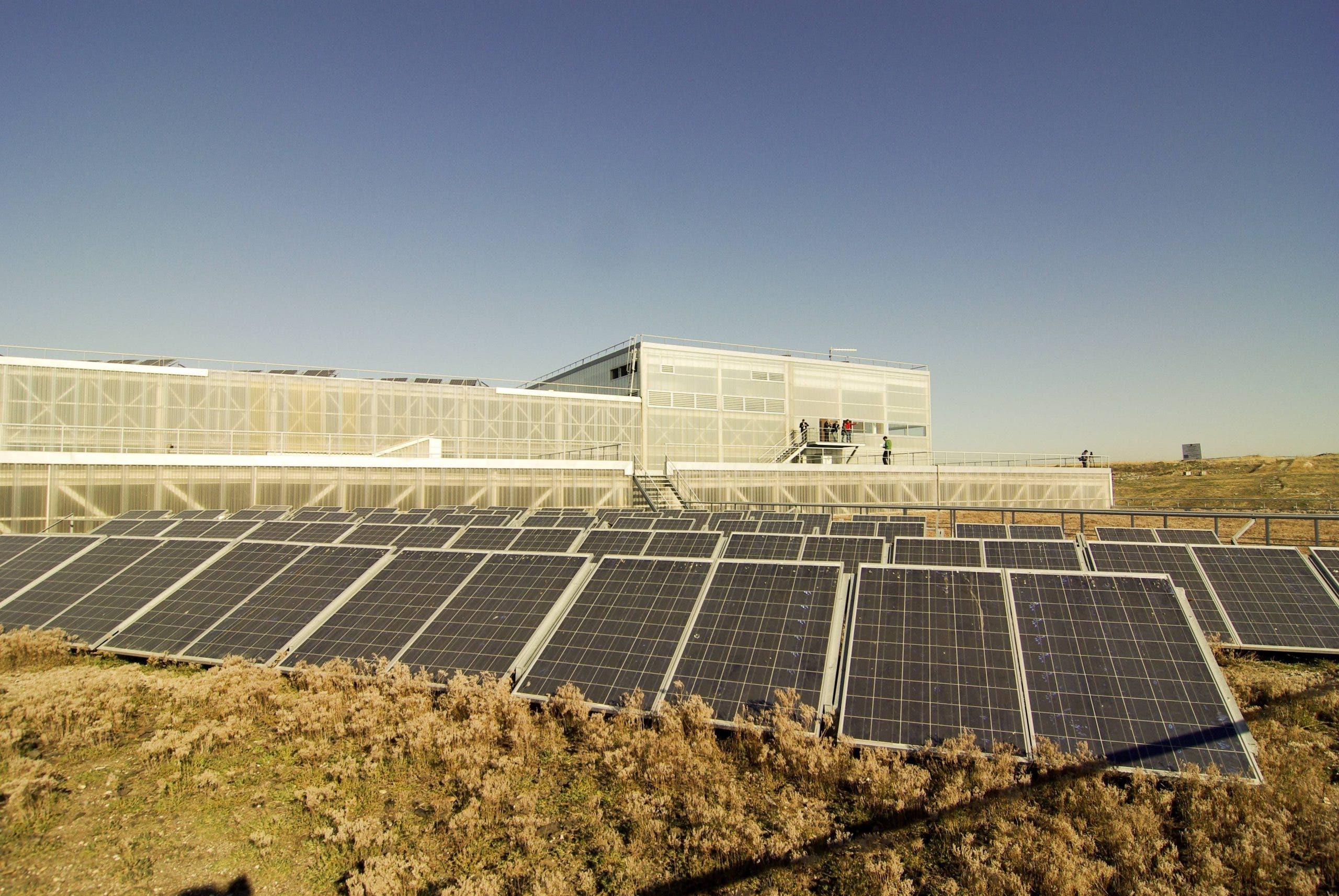 A solar energy installation