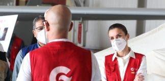 La Reina Letizia Entrega Ayuda Humanitaria En Honduras
