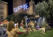 Nativity Scene at the Plaza de la Reina