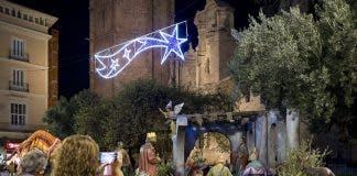 Nativity Scene at the Plaza de la Reina