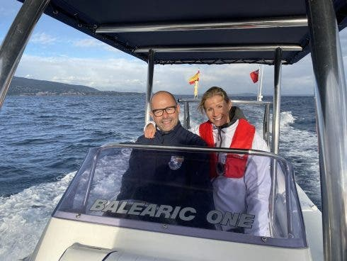 Paul Schofield And Terenia Taras