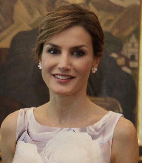 Reina Letizia De Espa A Visita Oficial