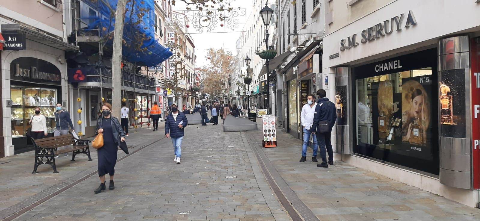 Most shops closed until January 10 as Gibraltar COVID-19 cases near 500