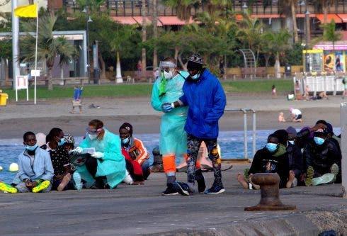 Rescatados 61 Migrantes Subsaharianos A Bordo De Una Patera En Las Costas De Tenerife
