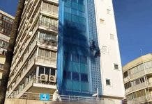 Benidorm Skyscraper Worker Has Safety Rope Cut By Angry Resident On Spain S Costa Blanca
