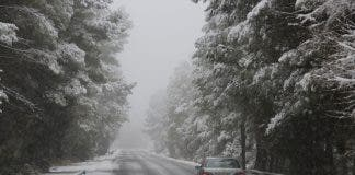 Cold Costa As Snow Hits Roads And Schools In Higher Areas Of Spain S Costa Blanca