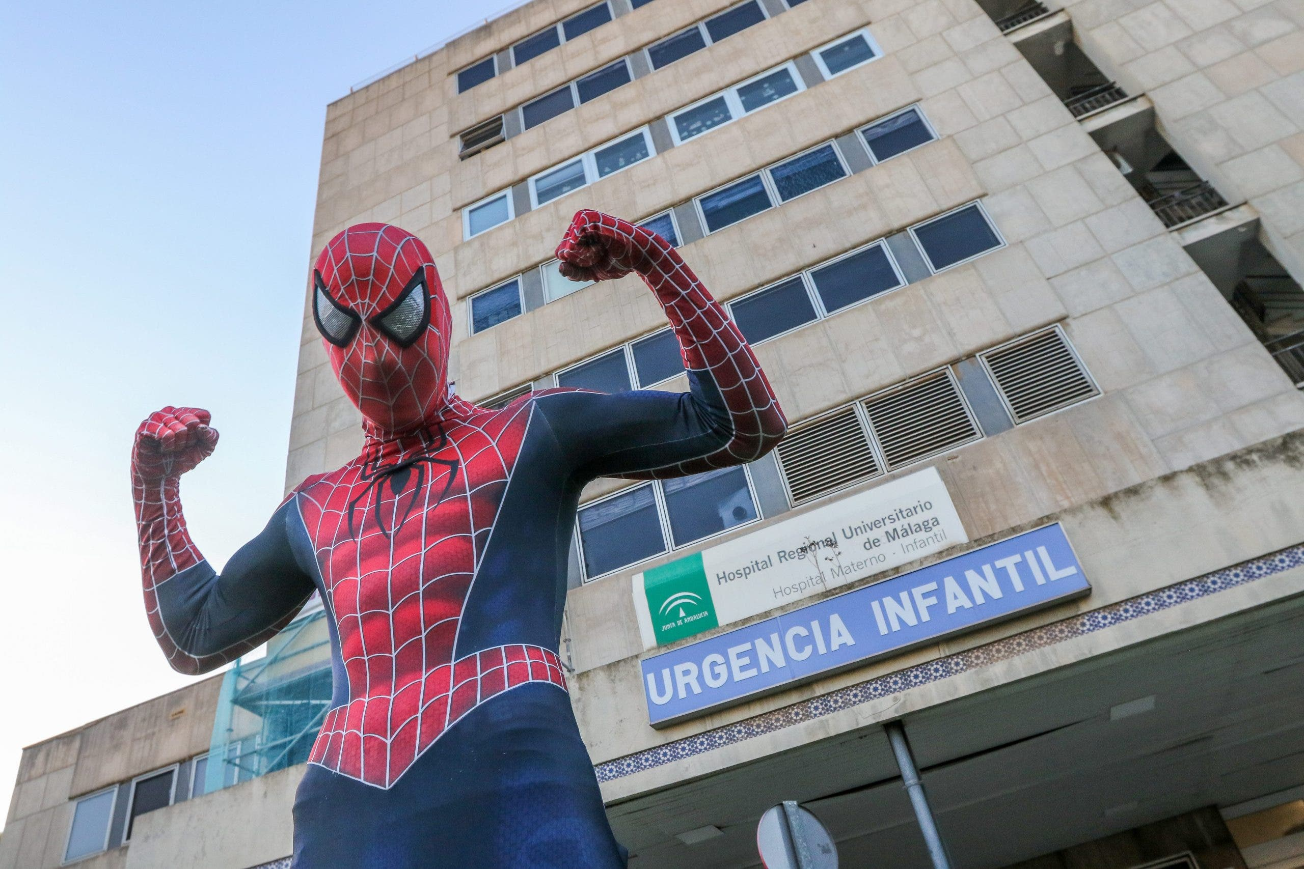 Spiderman Malaga