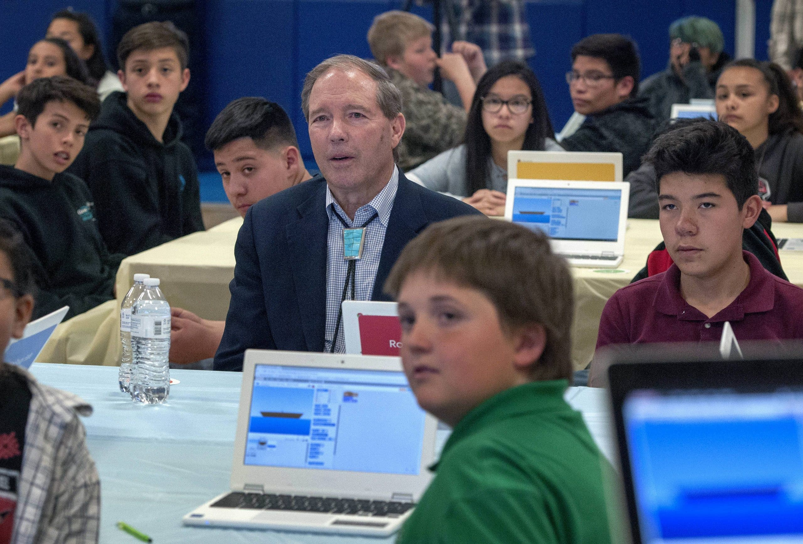 CONNECTED: Internet is increasingly being used in schools all over the world