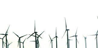 A wind farm in Spain