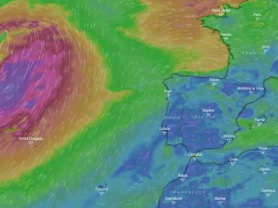 Temperaturas Record Antes De La Borrasca Justine Que Dejara Lluvias Viento Y Niebla