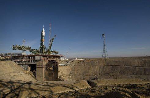 1024px Soyuz_expedition_19_launch_pad