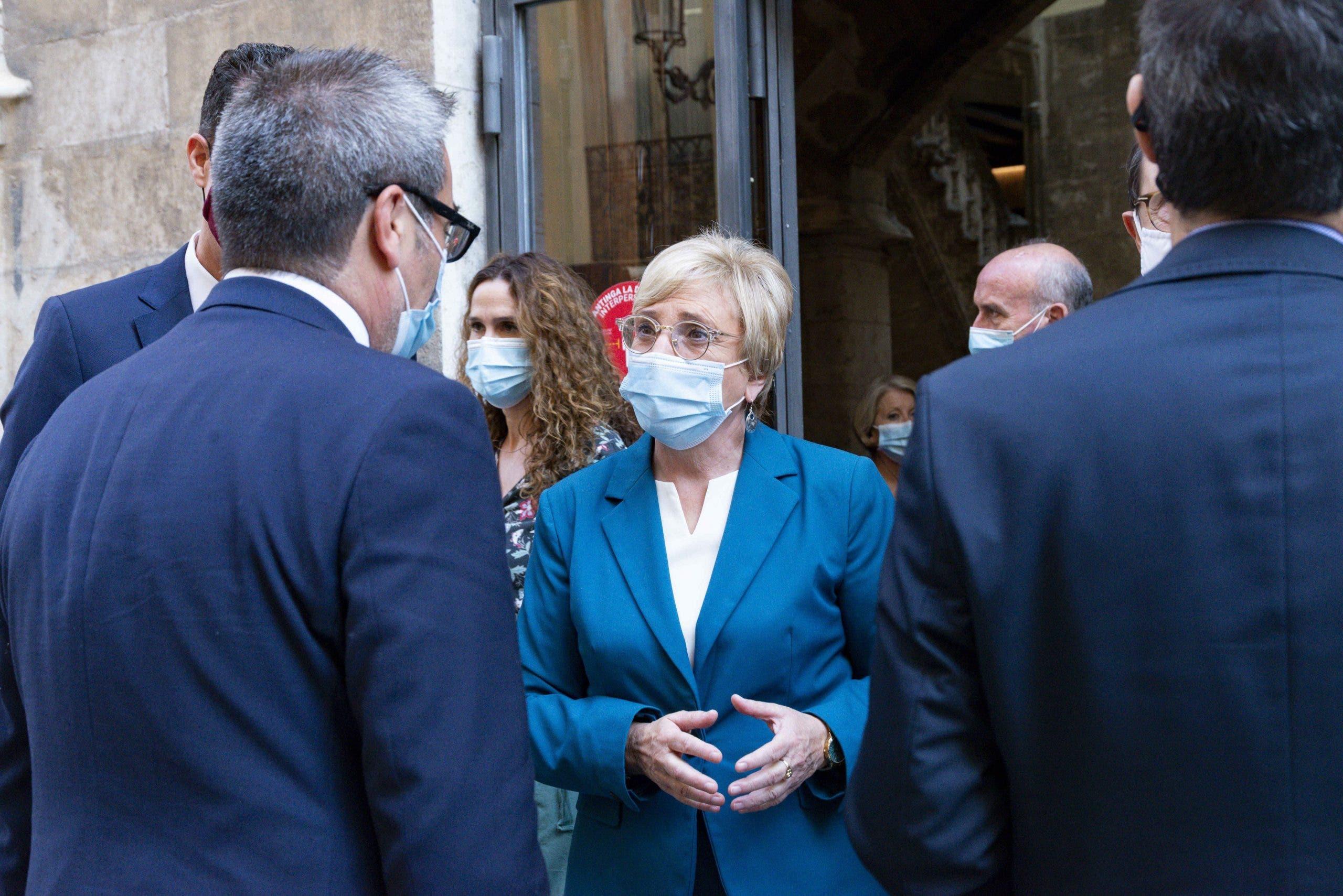 Valencian Health minister Ana Barcelo