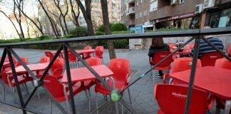 Las Terrazas Y Los Bares De Madrid Clausurados Por El Coronavirus