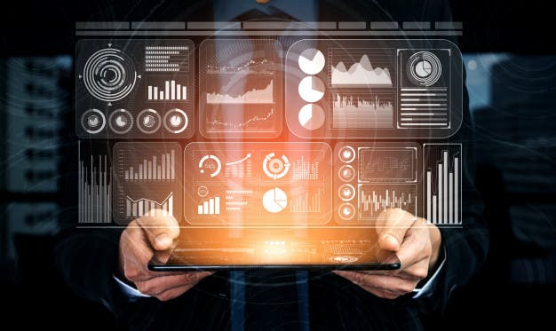 Big Data Technology Business Finance Concept_31965 3535