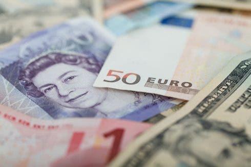 Currencies Money Exchange Pound Euro