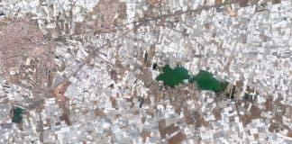 Sea Of Plastic Google Earth 1