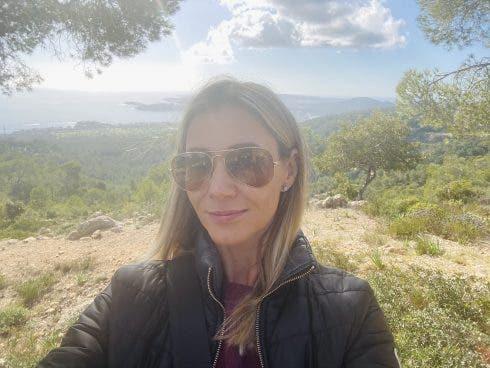 Terenia Taras A Hike In The Countryside